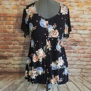 Torrid floral shirt or dress